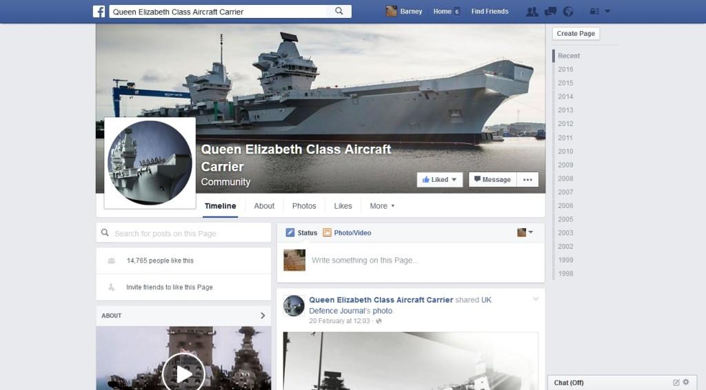Queen Elizabeth Class Aircraft Carrier Community